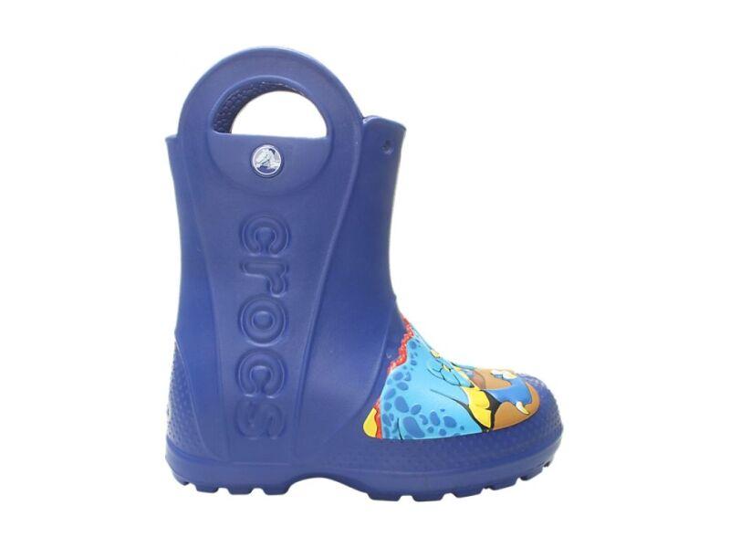 Crocs™ Funlab Dino Rain Boot Kid's Blue Jean