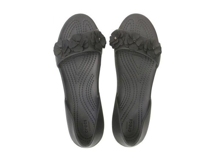 Crocs™ Lina Flower Dorsay Women's Black/Black
