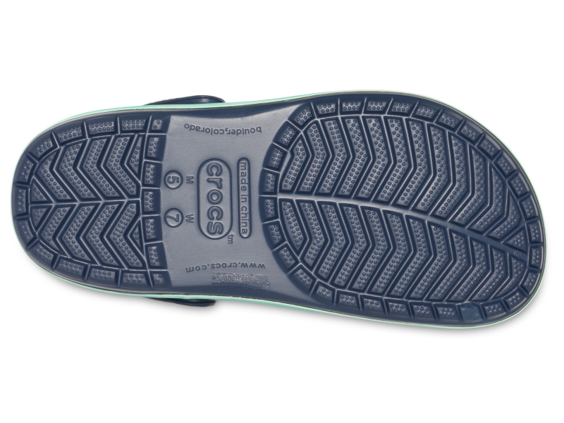 Crocs™ Crocband Wavy Band Clog Navy/Multi