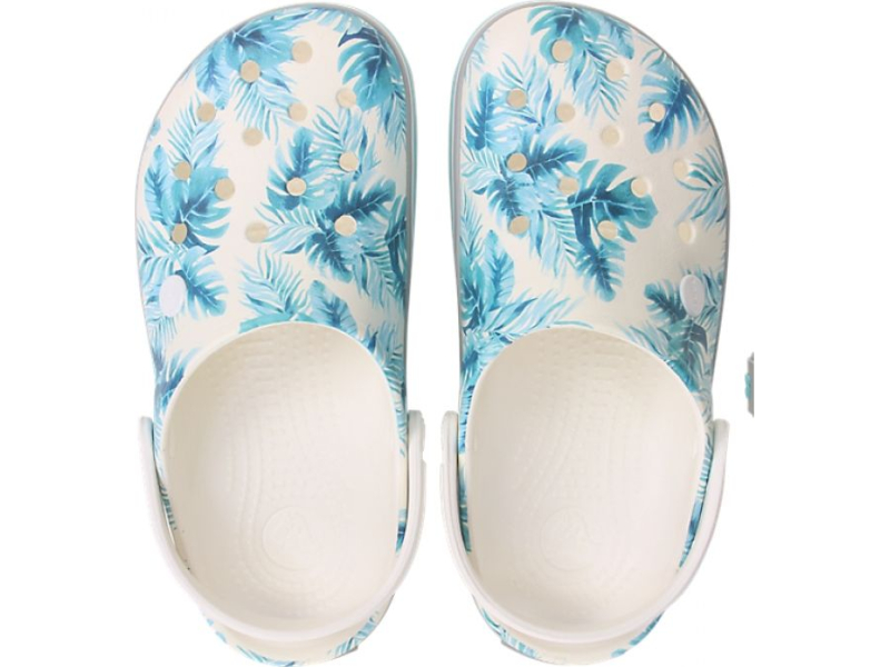Crocs™ Crocband Seasonal Graphic Clog White/Tropical