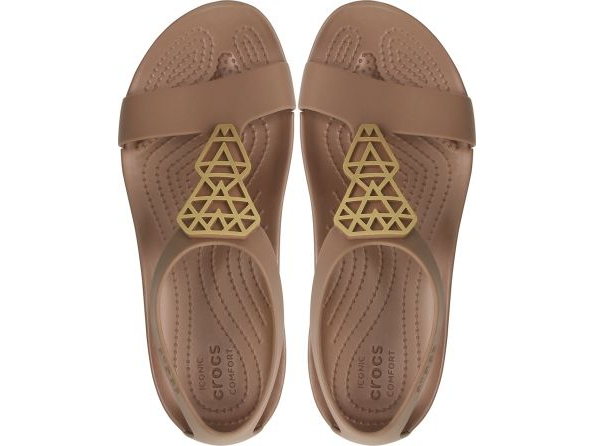 Crocs™ Serena Embellish Sandal Women's Bronze/Bronze