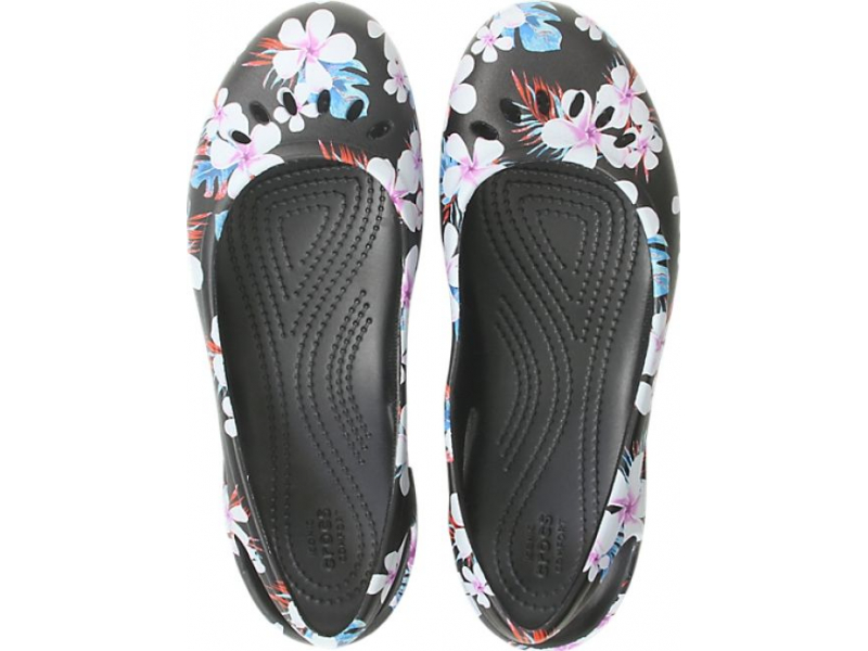 Crocs™ Kadee Seasonal Slingback Women's Tropical Floral/Black