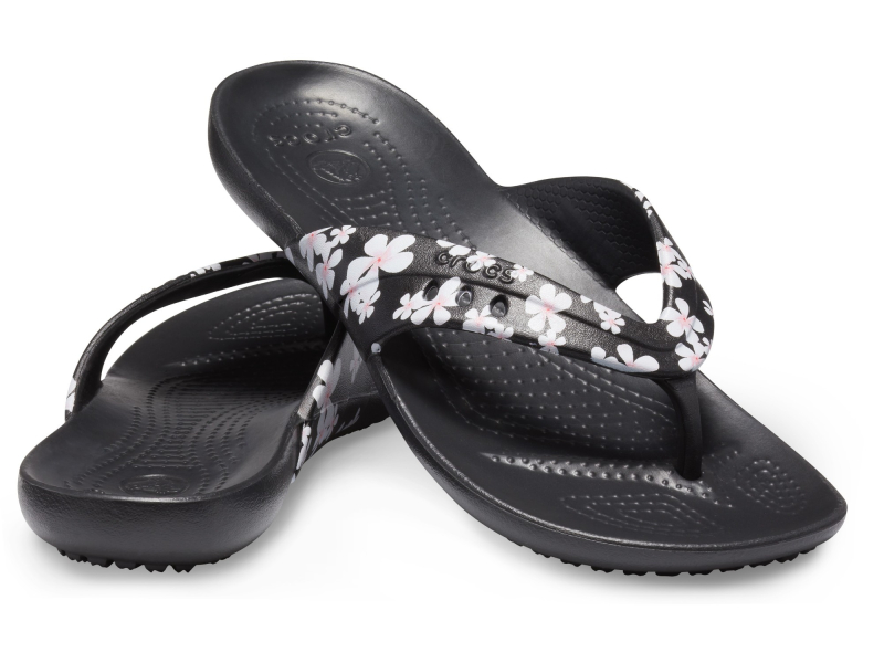 Crocs™ Kadee Seasonal Graphic Flip Women's Tropical Floral/Black