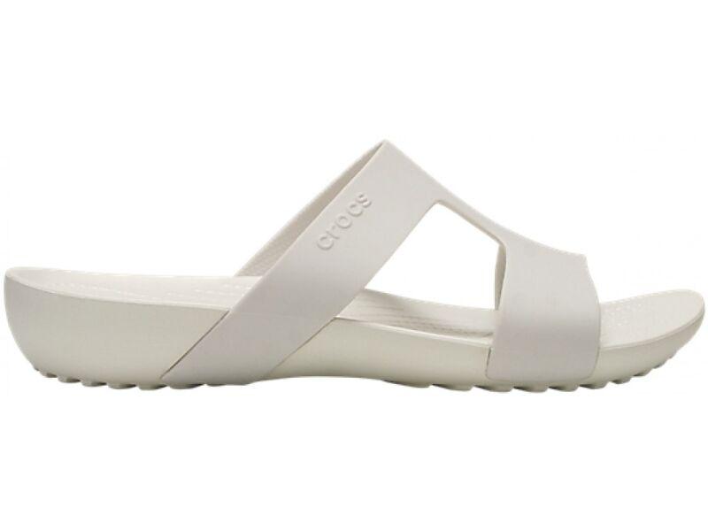 Crocs™ Serena Slide Women's Oyster/Oyster