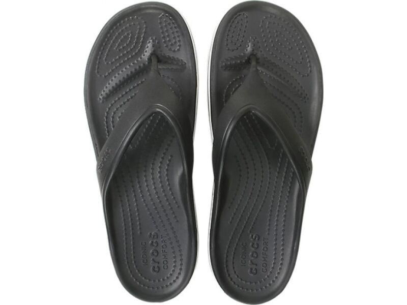 Crocs™ Crocband Platform Flip Black/White