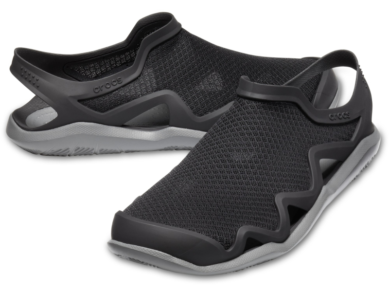 Crocs™ Swiftwater Mesh Wave Men's Black/Slate Grey