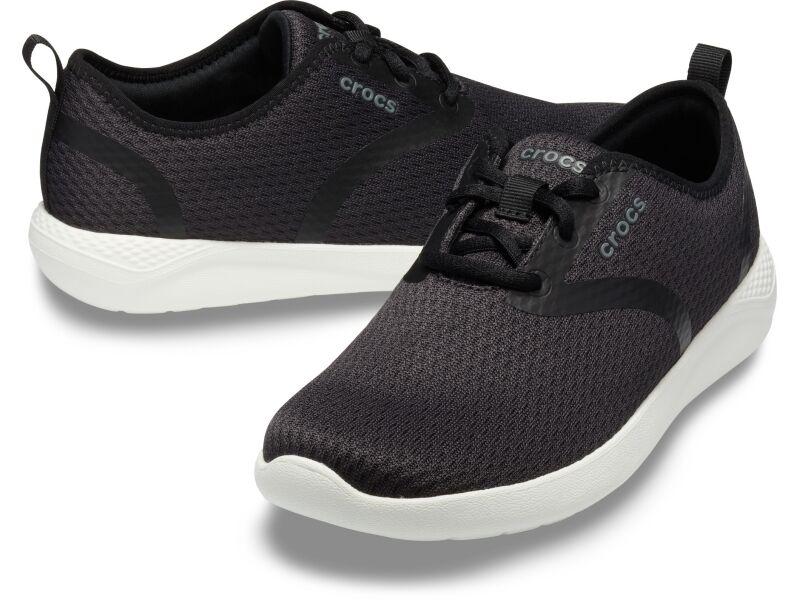 Crocs™ LiteRide Mesh Lace Women's Black/White