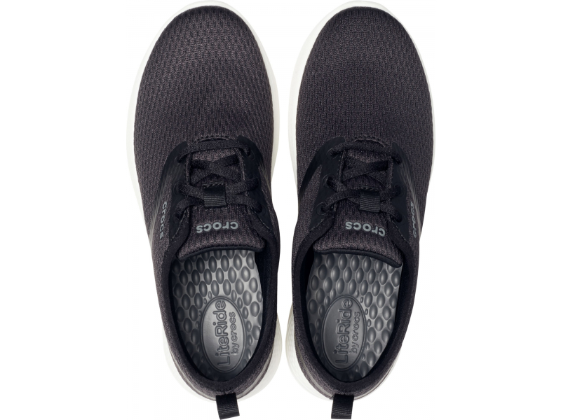 Crocs™ LiteRide Mesh Lace Women's Black/White