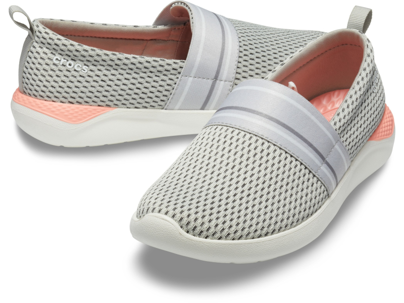 Crocs™ LiteRide Mesh Slip-On Women's Pearl White/White