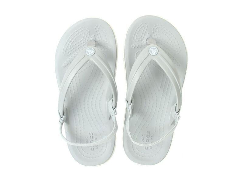 Crocs™ Crocband Strap Flip Kid's Light Grey