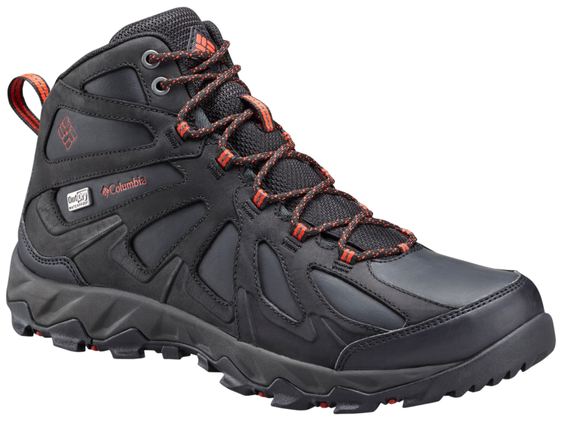 Columbia Peakfreak XCRSN II Mid Leather Outdry Black/Supersonic