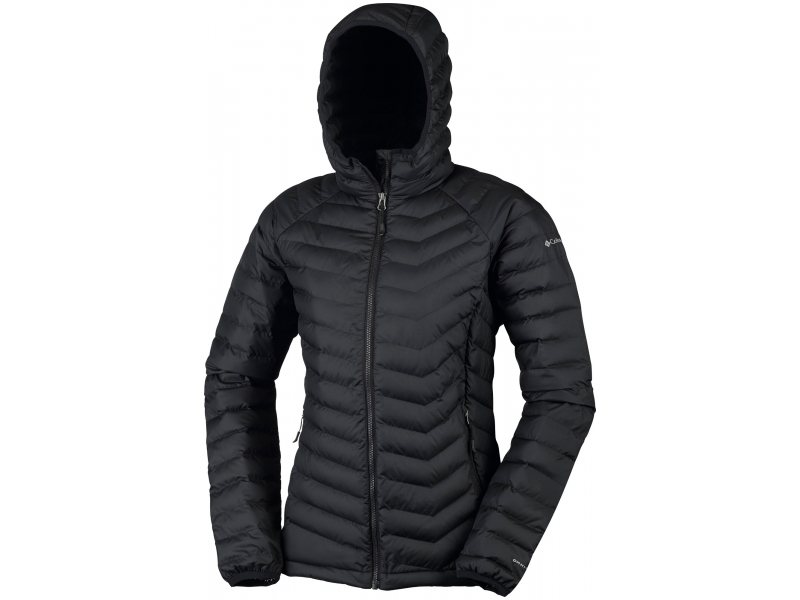 Columbia Powder Lite Hooded Jacket Black