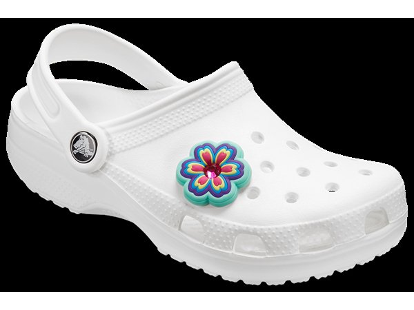 Crocs™ Crocs RHINESTONE RAINBOW FLOWER