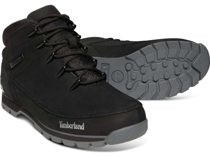 Timberland Euro Sprint Hiker Black Nubuck A1RI9