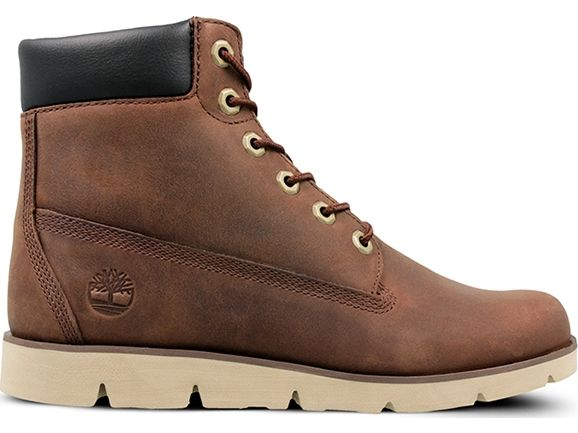Timberland Radford 6 In Junior's Boot Medium Brown Full-Grain