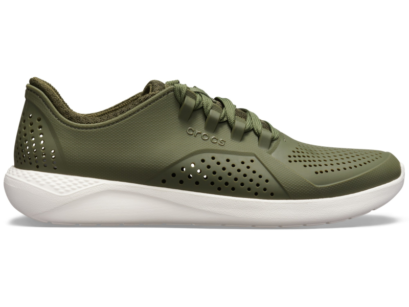 Crocs™ LiteRide Pacer Army Green/White