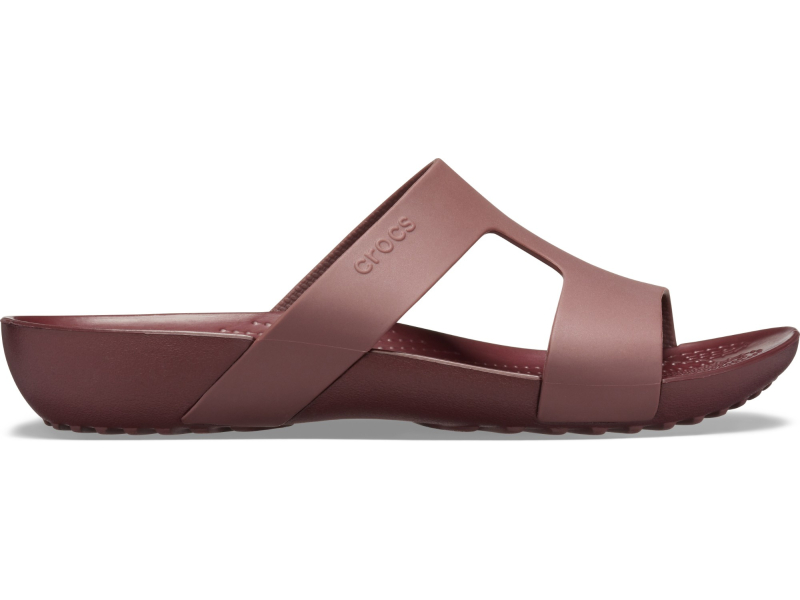 Crocs™ Serena Slide Women's Burgundy