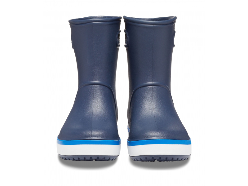 Crocs™ Crocband Rain Boot Kid's Navy/Bright Cobalt