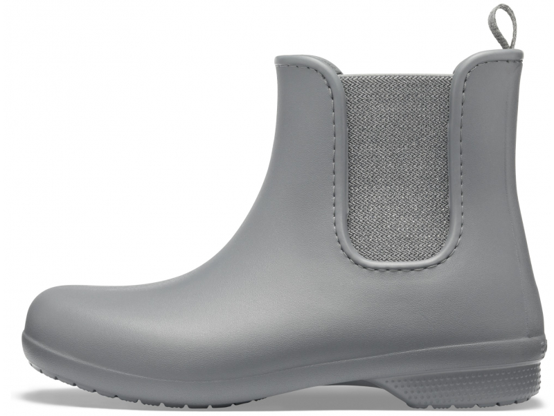 Crocs™ Freesail Mt Chelsea Boot Women's Metallic Charcoal