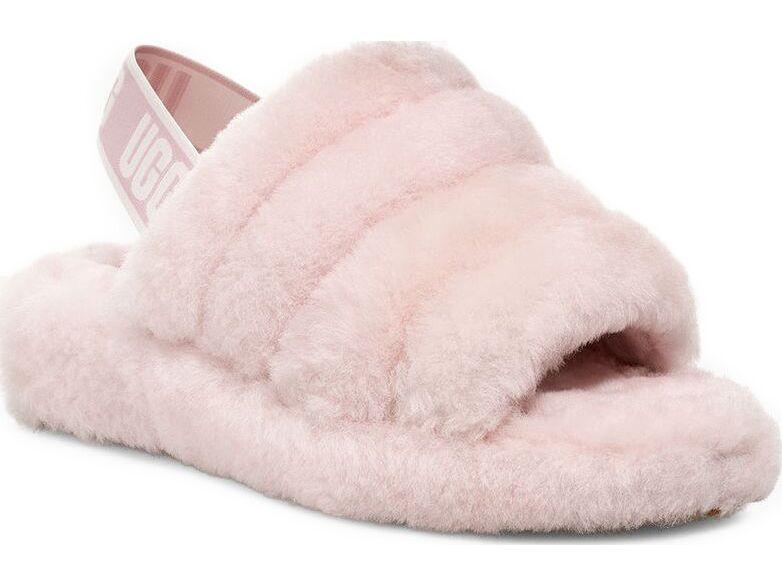 UGG Fluff Yeah Slide Seashell Pink