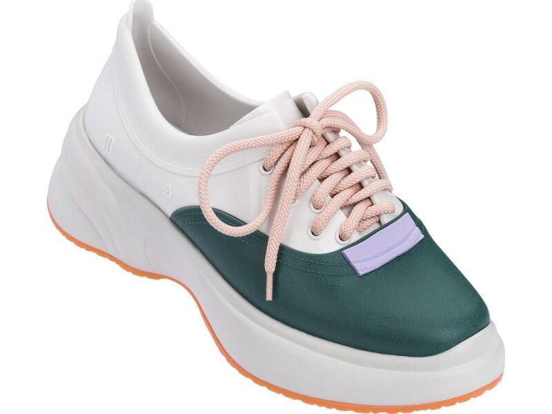 Melissa Ugly Sneaker Beige/White/Green