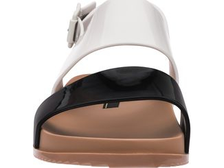 Melissa Cosmic Sandal III Black/White/Brown
