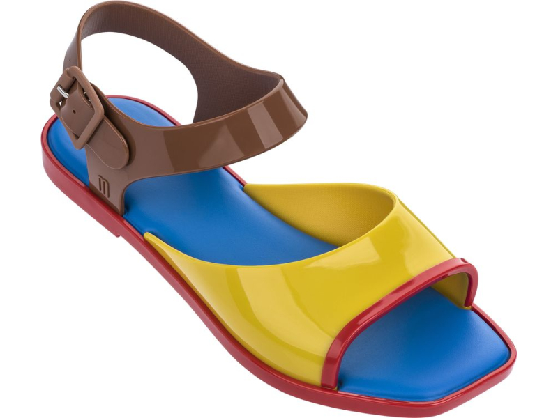 Melissa Crush Yellow/Brown/Red