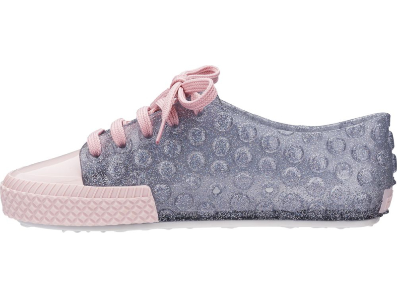 Melissa Polibolha Sneaker Clear Glitter/Pink