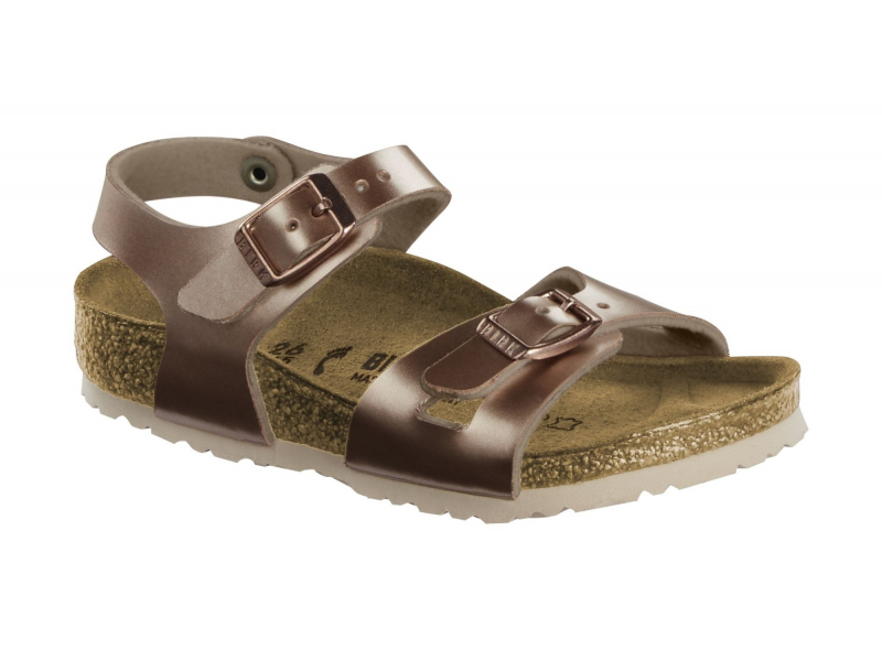 Birkenstock Rio Kids Electric Metallic Copper