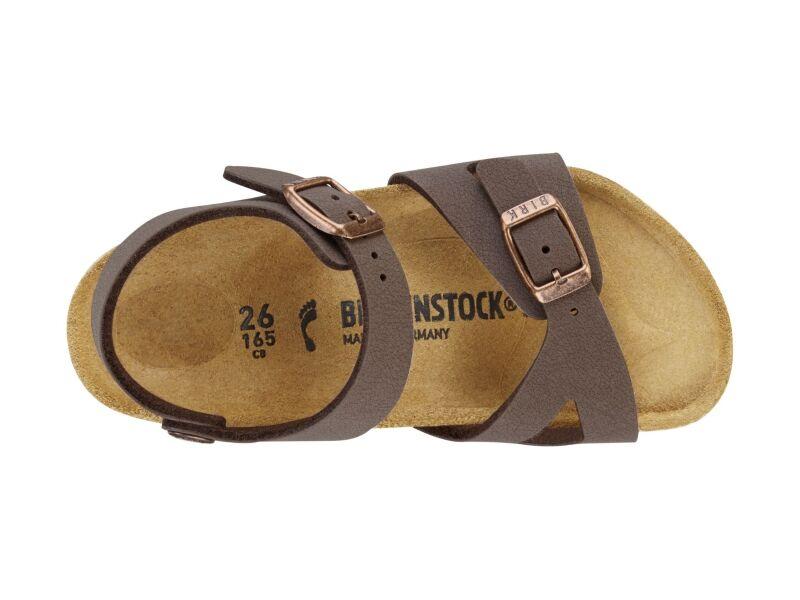 Birkenstock Rio Kids Nubuck Mocha