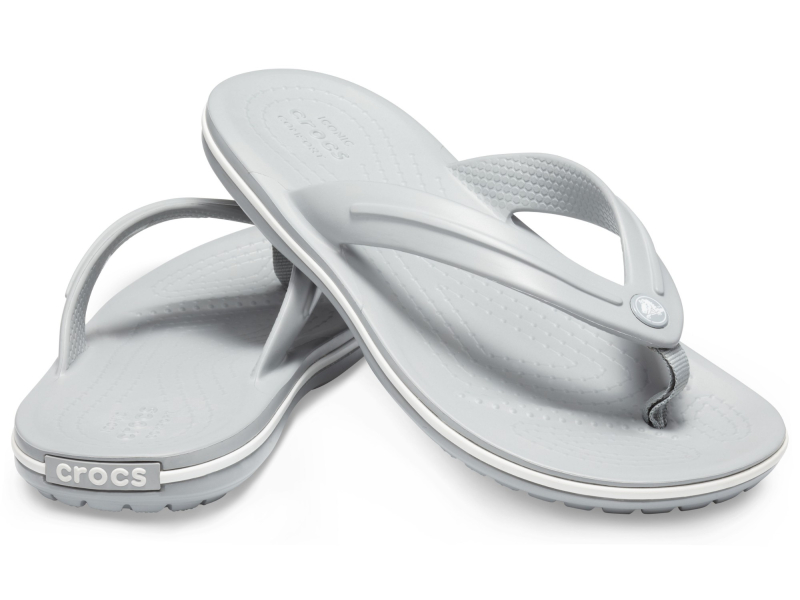 Crocs™ Crocband Flip GS Light Grey
