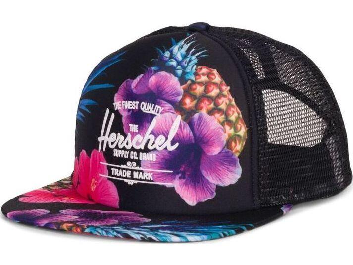 Herschel Whaler Mesh Black Pineapple