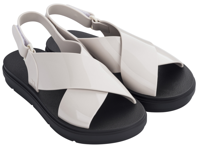 ZAXY Talk Sandal Platform 17608 Black/Offwhite