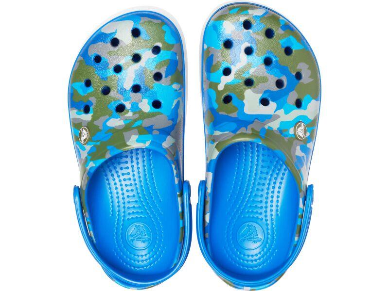 Crocs™ Crocband Printed Clog Bright Cobalt/Army Green