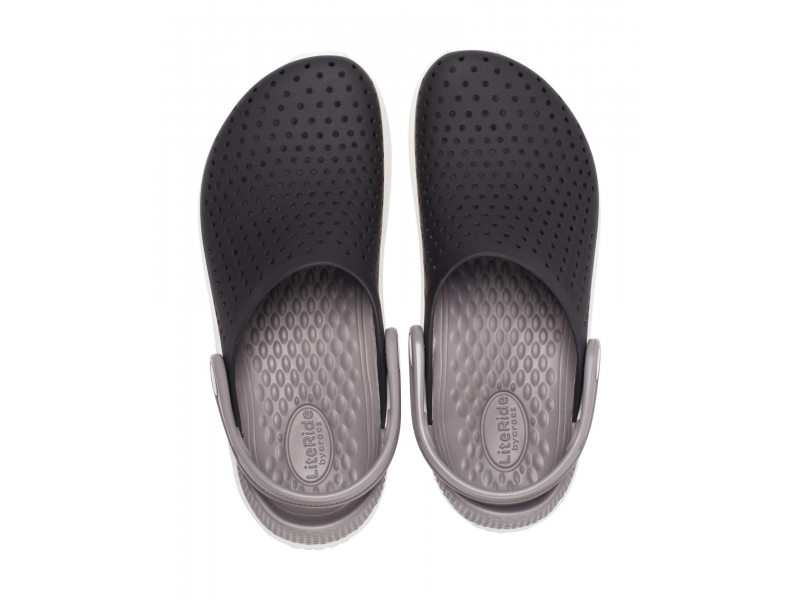 Crocs™ LiteRide Clog Kid's Black/White