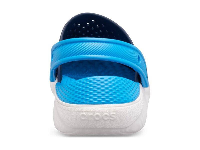 Crocs™ LiteRide Clog Kid's Navy/White