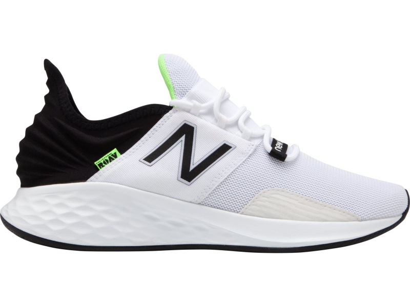 New Balance Men's Fresh Foam Roav White/Black