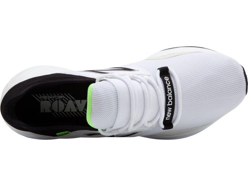 New Balance Men's Fresh Foam Roav White/Black