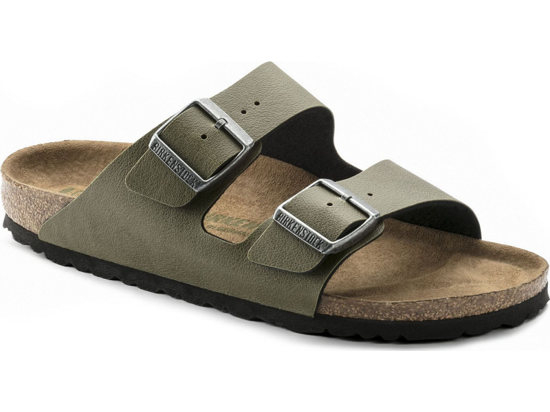 Birkenstock Arizona Pull Up Vegan Olive VEG