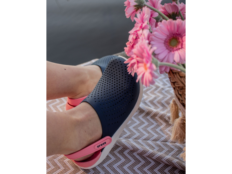 Crocs™ LiteRide Clog Navy/Melon