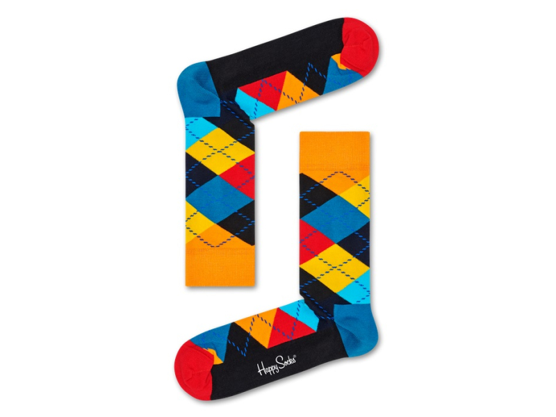 Happy Socks Argyle Multi 0100