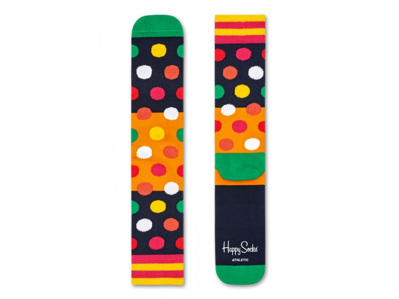 Happy Socks Athletic Big Dot Block Multi 6500