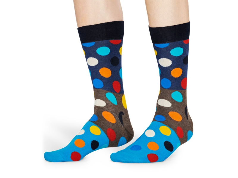 Happy Socks Big Dot Block Multi 8300