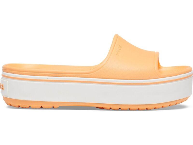 Crocs™ Crocband Platform Slide Cantaloupe/White