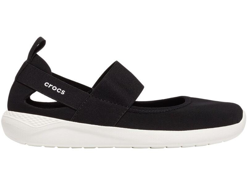 Crocs™ Literide Mary Jane Womens Black/White