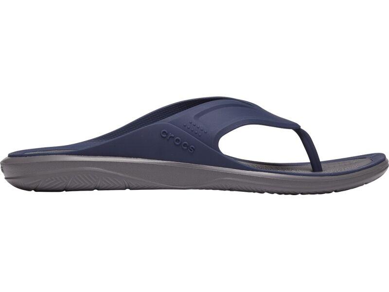 Crocs™ Swiftwater Wave Flip Mens Navy/Slate Grey