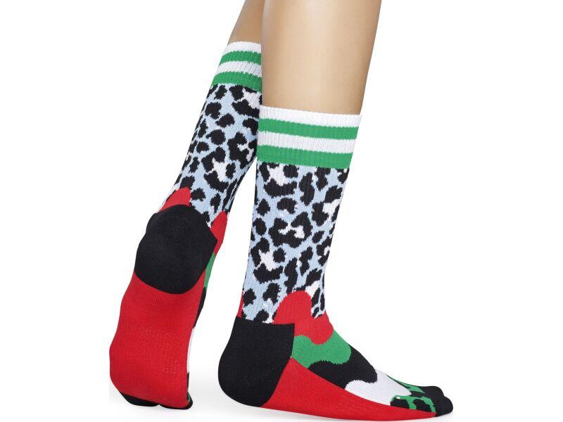 Happy Socks Athletic Animal Multi 0100