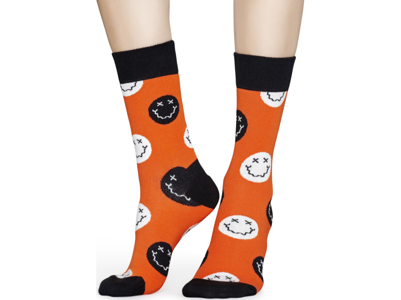 Happy Socks Halloween Smiley Multi 4300