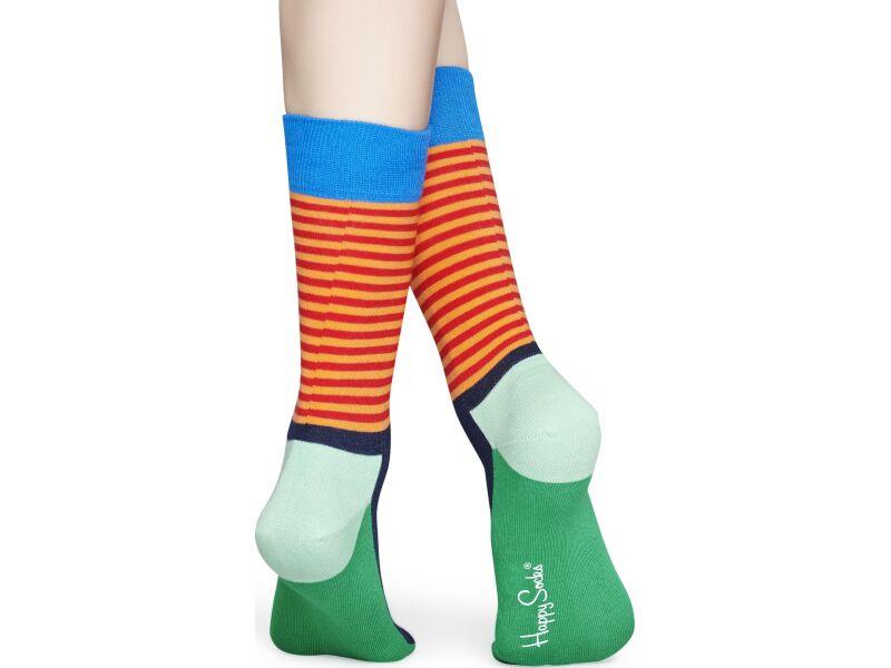Happy Socks Half Stripe Multi 7300