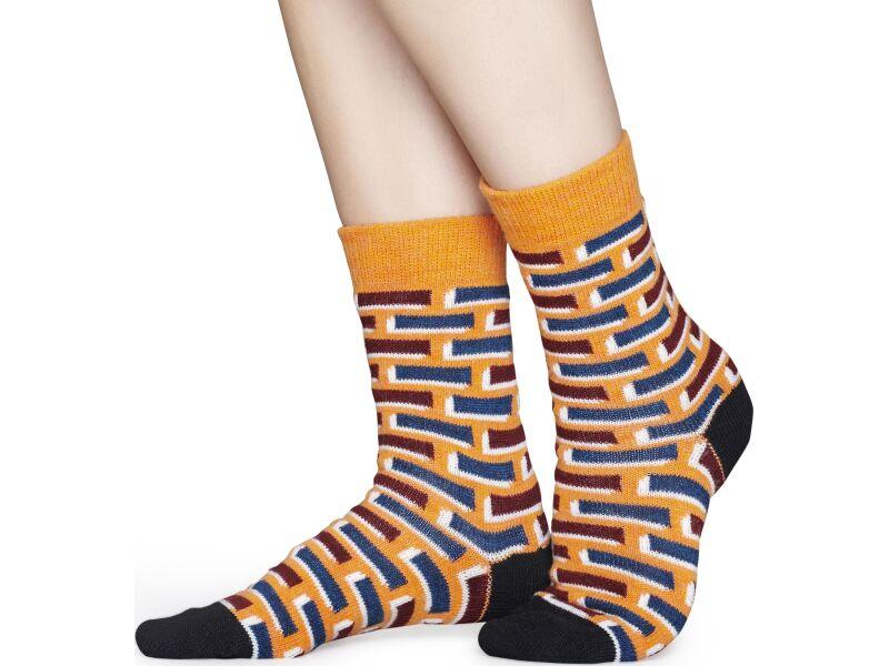 Happy Socks Wool Brick Multi 2900